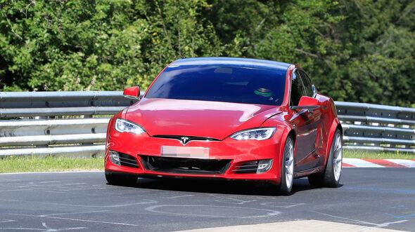 Tesla Model S Nürburgring