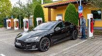 Tesla Model S P100D 4X4, Exterieur