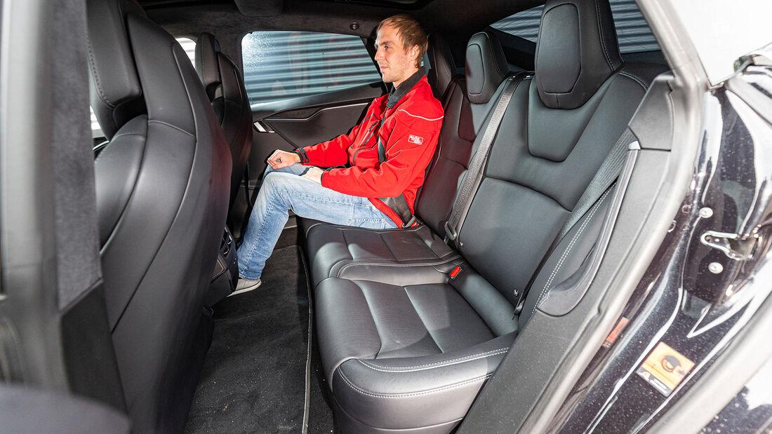 Tesla Model S P100D 4X4, Interieur