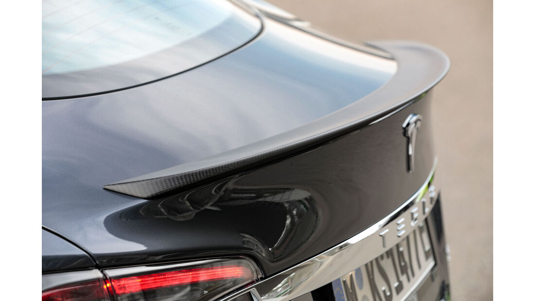 Tesla Model S P100D - Elektroauto - Sportwagen - Test