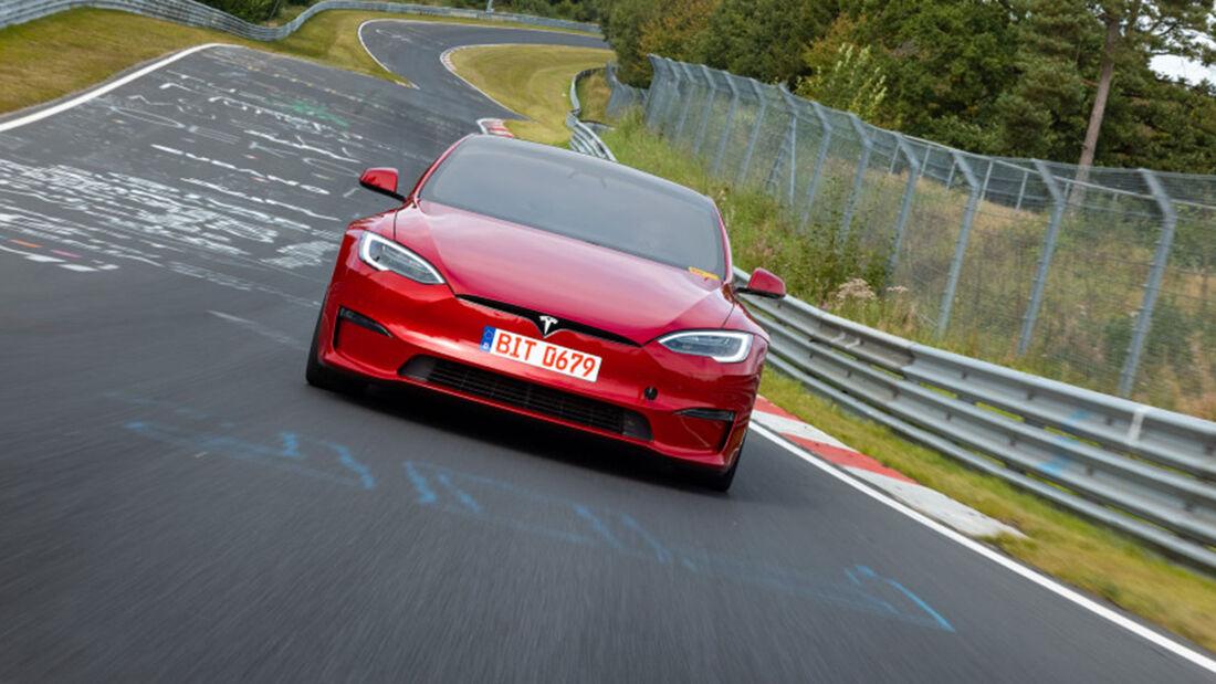 Tesla Model S Plaid Nürburgring-Rekord