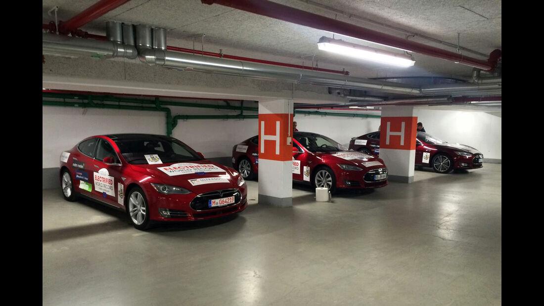 Tesla Model S Rekordfahrt zum Nordkap