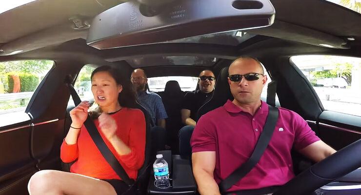 Tesla Model S Youtube-Reaktionen