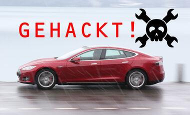Tesla Model S gehackt