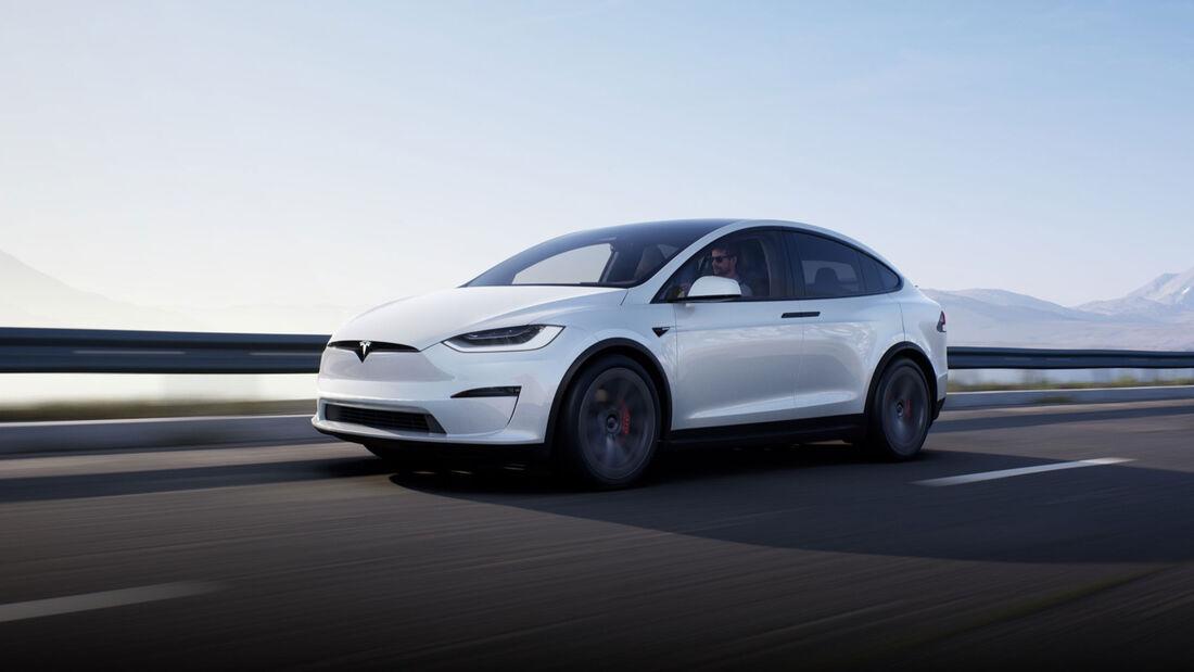 Tesla Model X Facelift