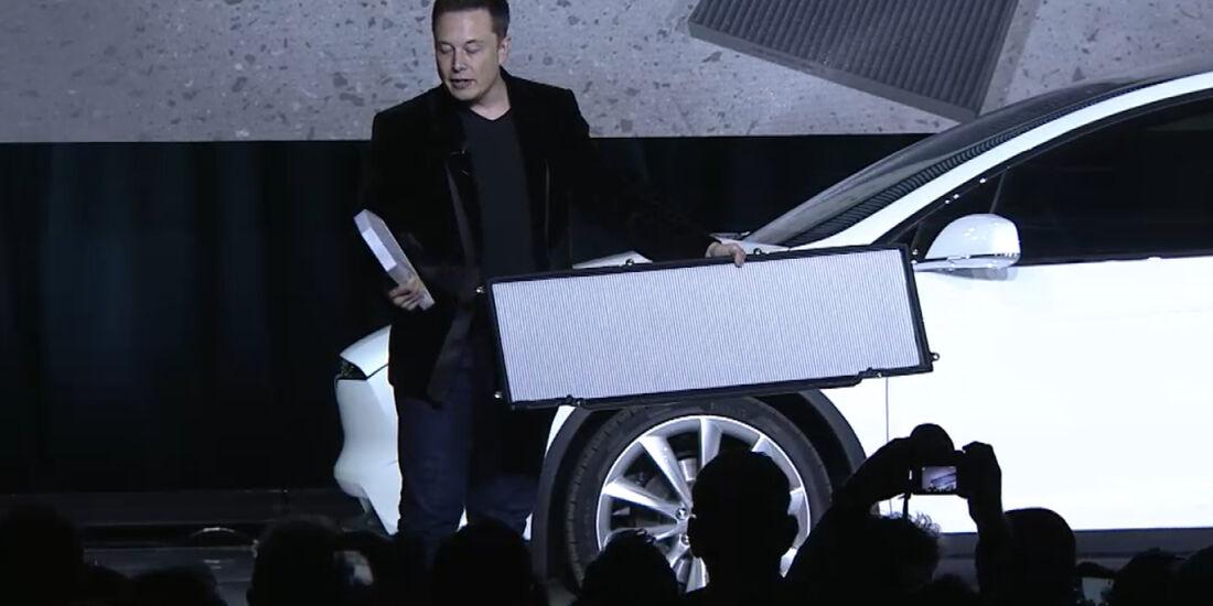 Tesla Model X Filter