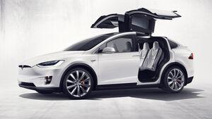 Tesla Model X, SUV, 10/2015