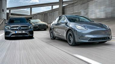 Tesla Model Y Deutsche Premium Kunden Mercedes Audi