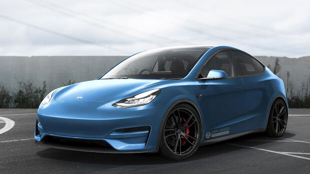 Tesla Model Y by Unplugged Performance