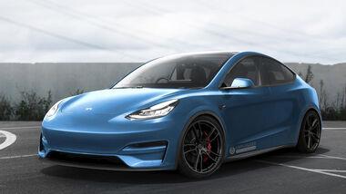 Tesla Model Y by Unplugged Performance