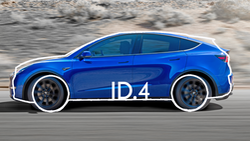 Tesla Model Y gegen VW ID.3 Konzeptvergleich