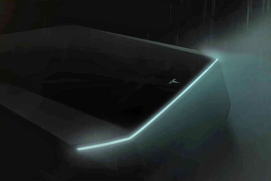 Tesla Pick-up Teaser
