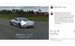 Tesla Roadster Beschleunigung