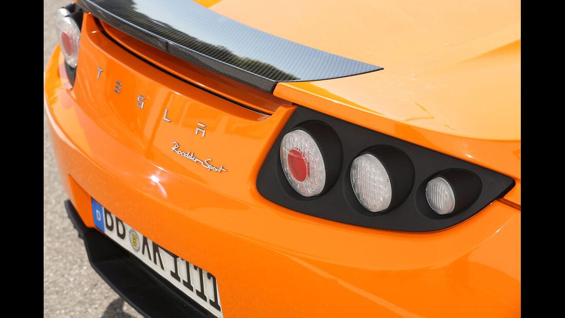 Tesla Roadster, Heckleuchte