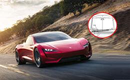 Tesla Roadster Scheibenwischer