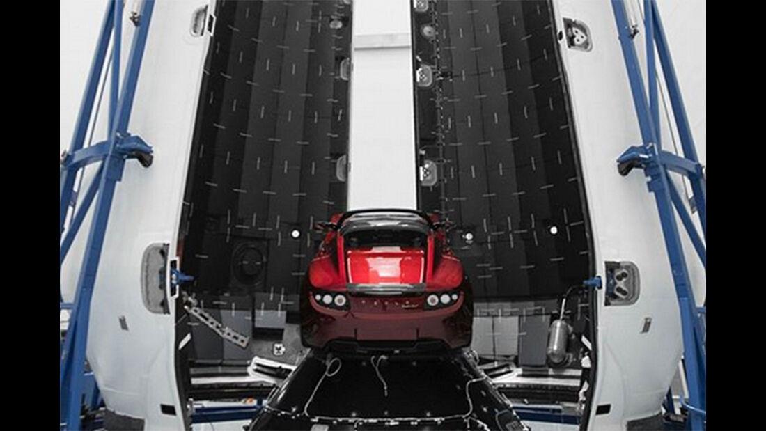 Tesla Roadster SpaceX