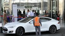 Tesla - Scheichautos - Formel 1 - GP Abu Dhabi - 03. November 2013