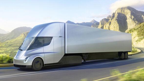 Tesla Semi Truck (2019)