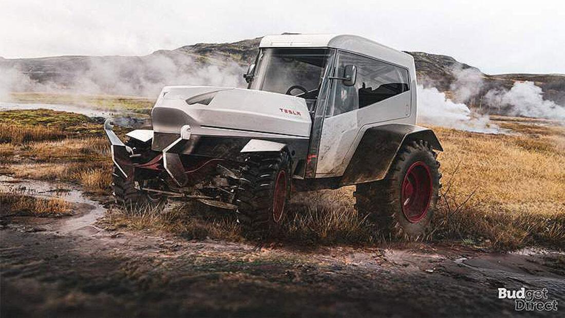 Tesla Traktor