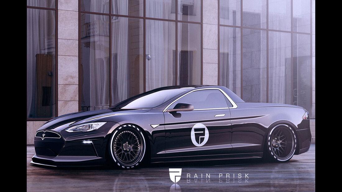 Tesla Ute - Fantasie-Auto