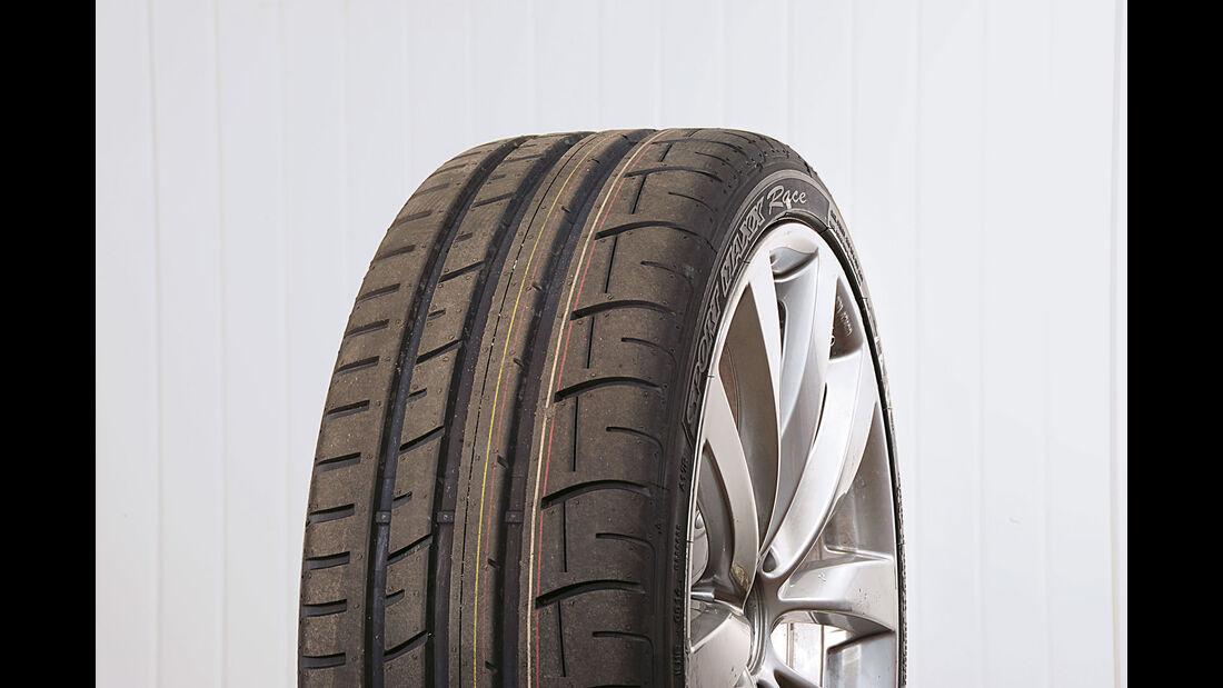 Test - Sportreifen - Semi-Slicks - Dunlop SportMaxx Race - 235/35 R19