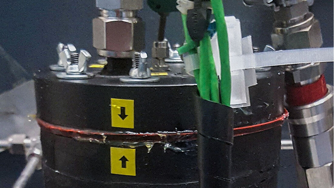 Testanlage Aktivkohlefilter