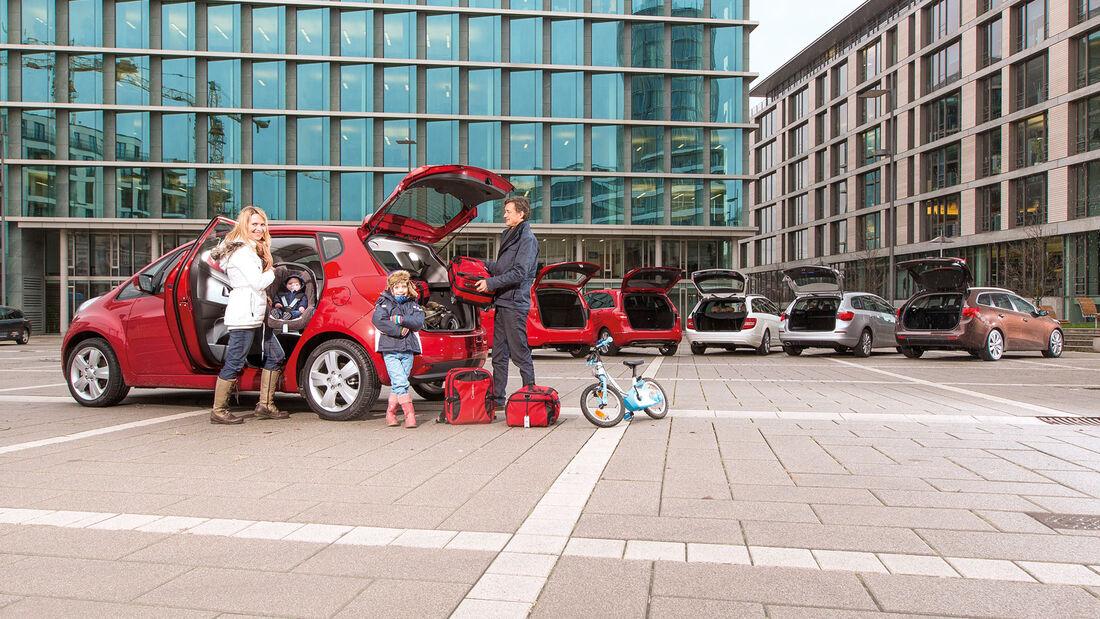 Testwagen, Gruppenbild