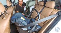 Testwagen, Kindersitz