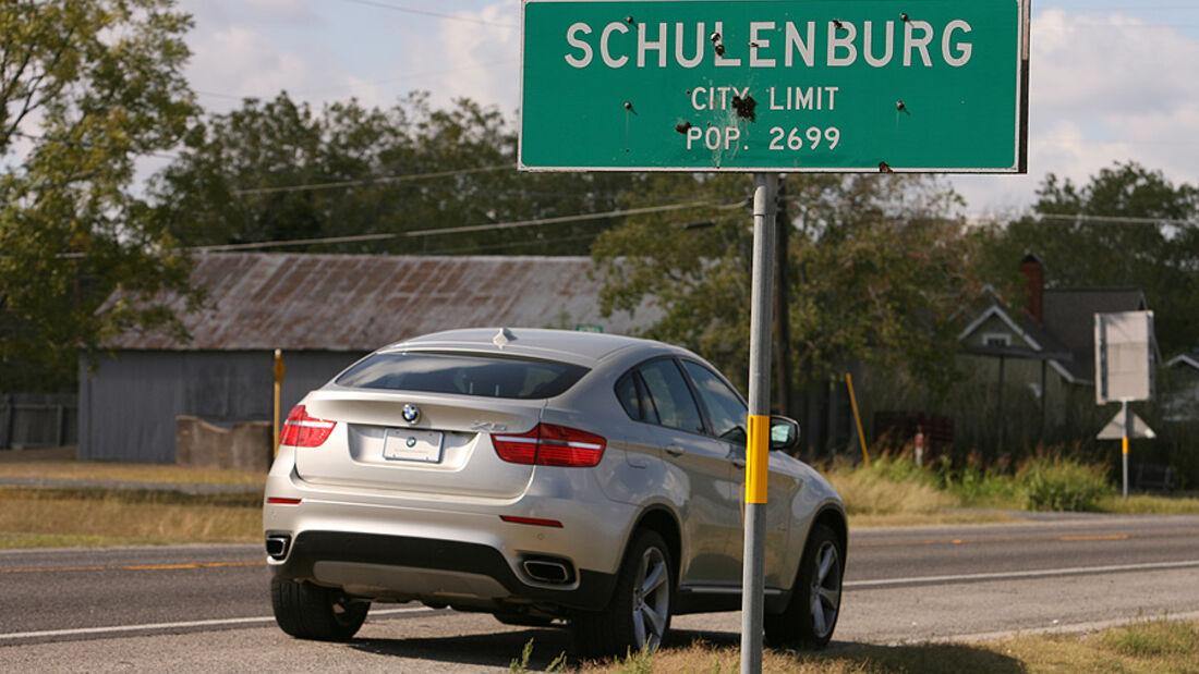 Texas-Reise im BMW X6