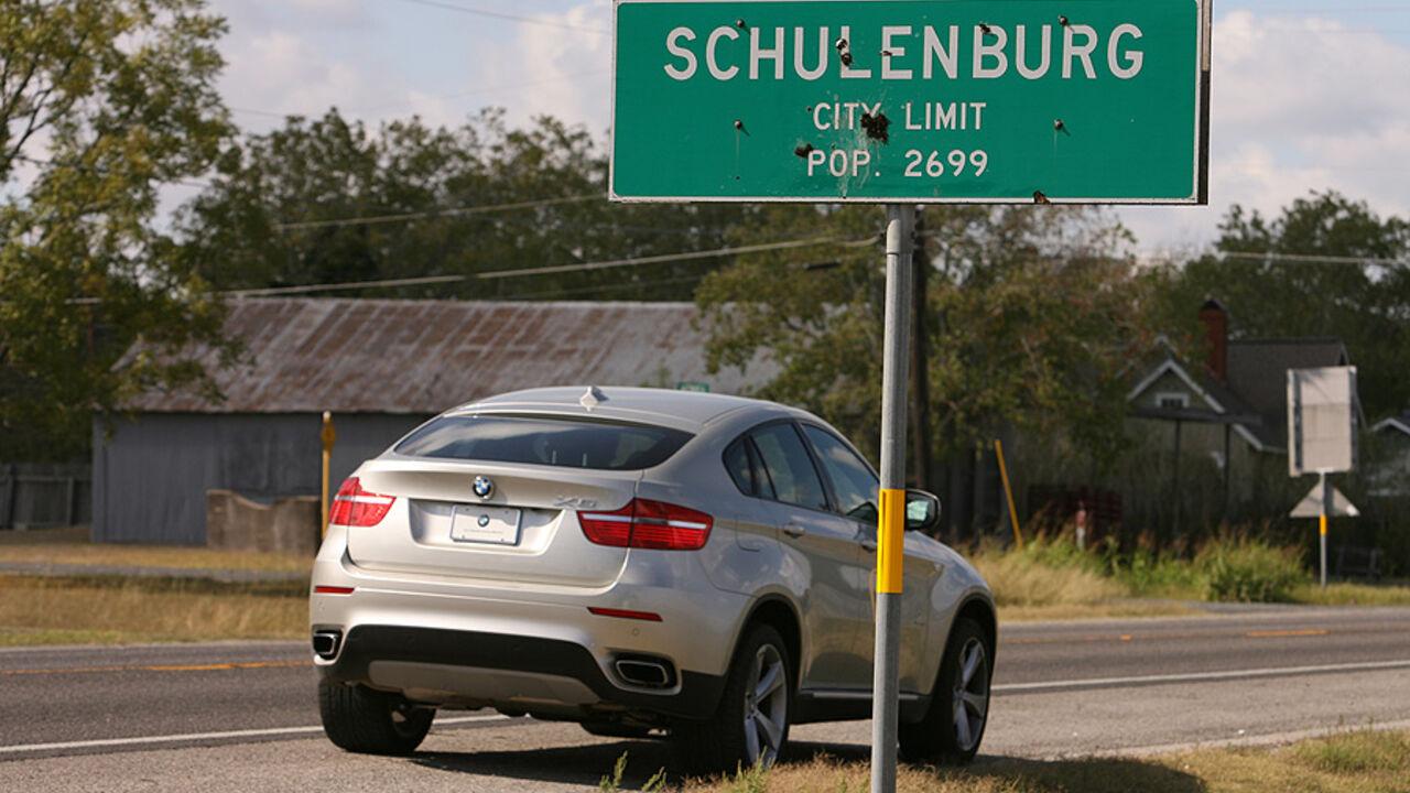 Reise Nach Texas Mit Dem Bmw X6 Zum Wurstfest Auto Motor Und Sport