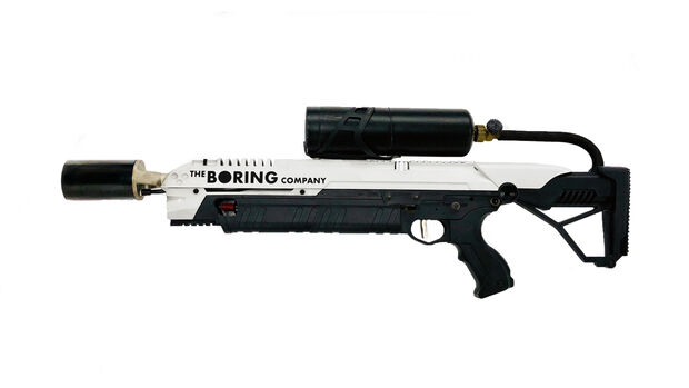 The Boring Company Tesla Musk Flamethrower Flammenwerfer