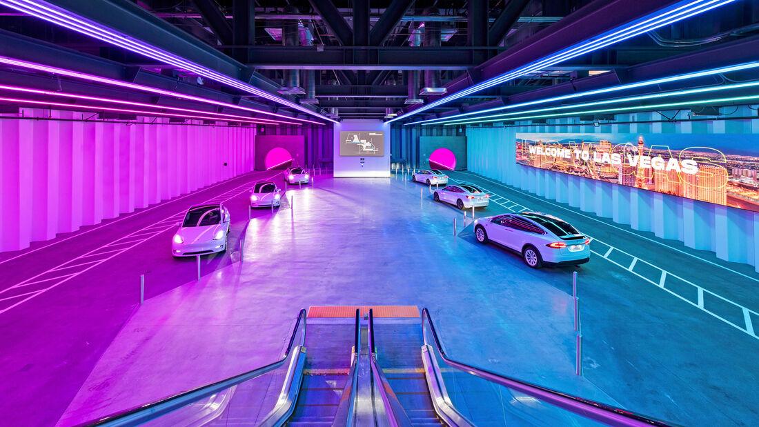 The Boring Company Vegas Loop