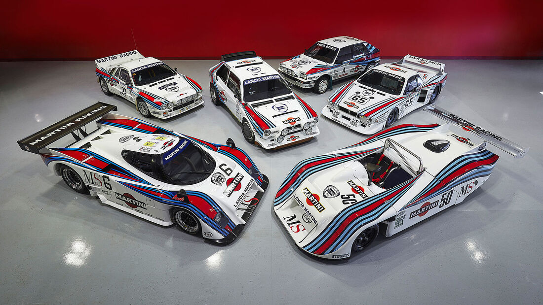 The Campion Collection Lancia Rennwagen