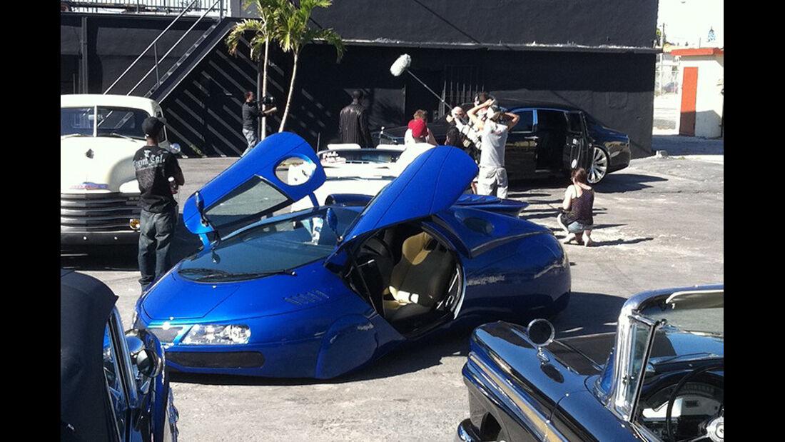 The Extra-Terrestrial Vehicle, aus: Porsche Boxster