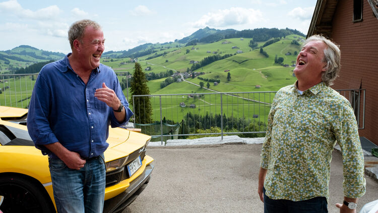 The Grand Tour Interview Mit Clarkson Hammond Und May