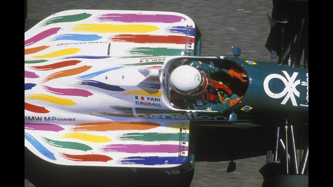 Theo Fabi Benetton BMW 1986