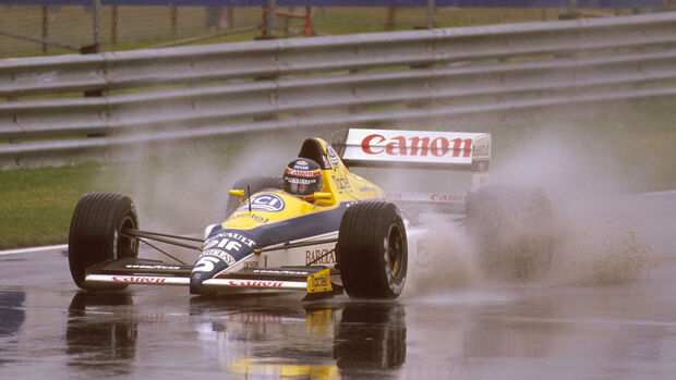 Thierry Boutsen - Williams - GP Kanada 1989