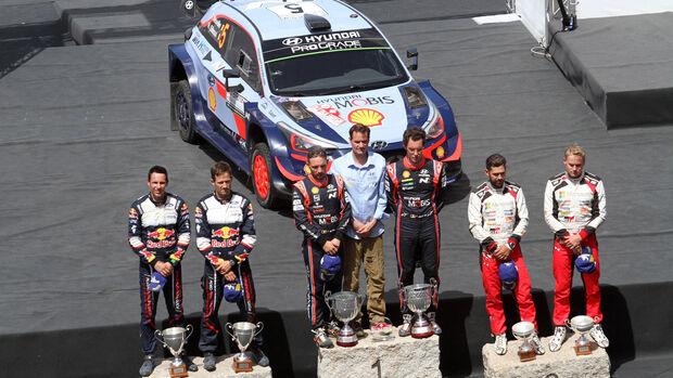 Thierry Neuville - Hyundai - Rallye Sardinien 2018 - WRC