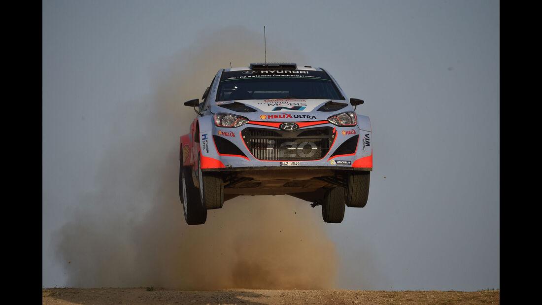 Thierry Neuville - Hyundai - Rallye Sardinien - WRC