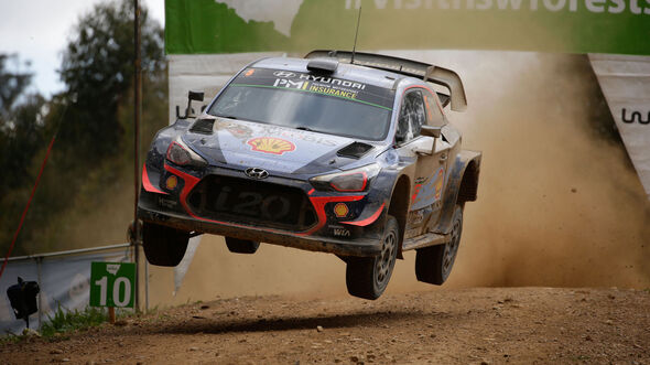 Thierry Neuville - Hyundai i20 WRC - Rallye Australien 2018