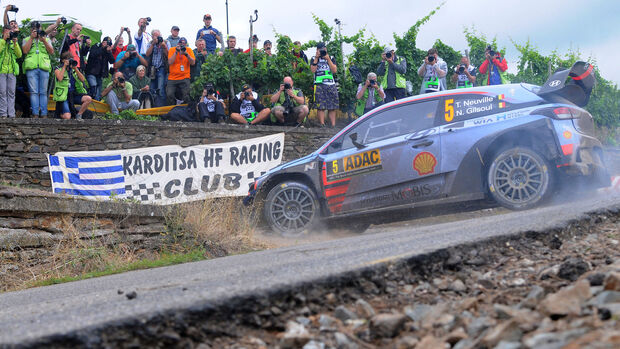 Thierry Neuville - Hyundai i20 WRC - Rallye Deutschland 2017