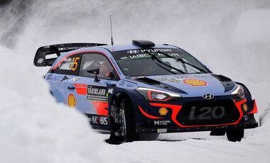 Thierry Neuville - Hyundai i20 WRC - Rallye Schweden 2018