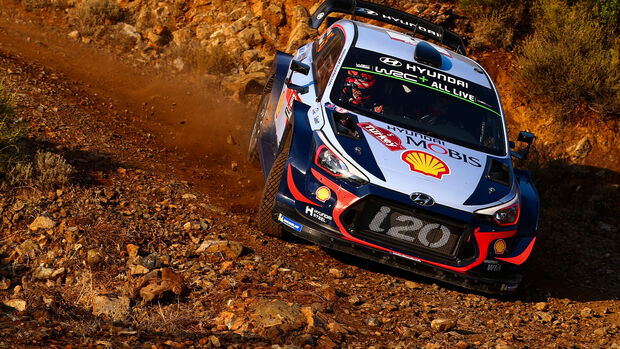 Thierry Neuville - Hyundai i20 WRC - Rallye Türkei 2018