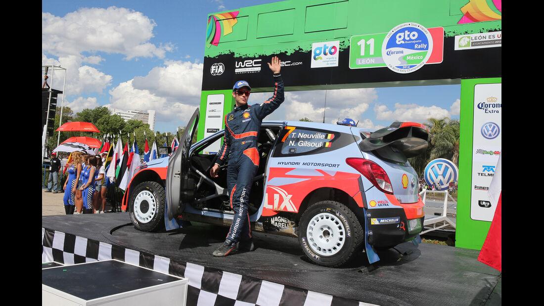 Thierry Neuville - Rallye Mexiko 2014