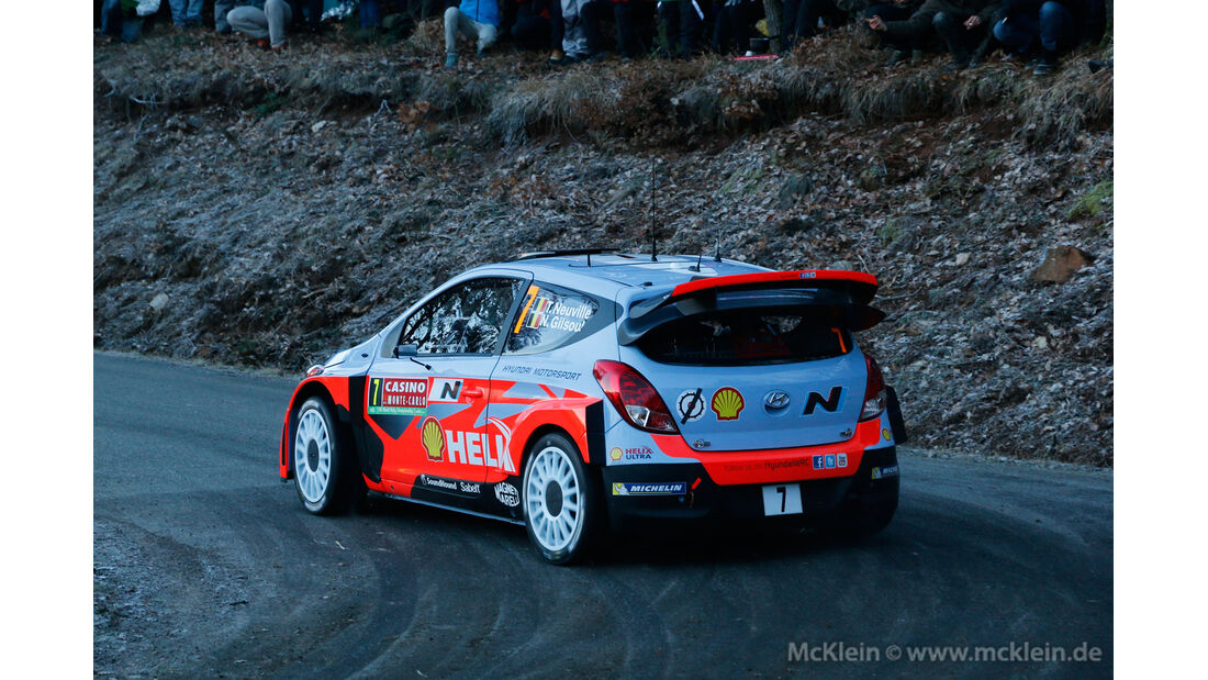 Thierry Neuville - Rallye Monte Carlo 2014