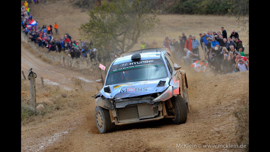 Thierry Neuville - Rallye Spanien 2016