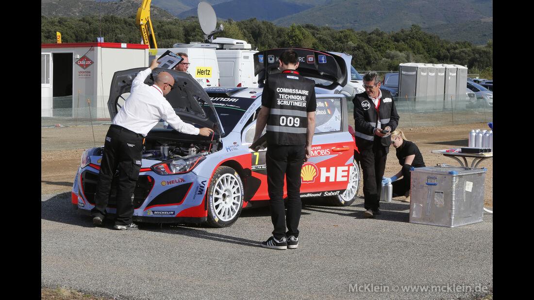 Thierry Neuville - WRC - Rallye Frankreich - Tour de Corse - Korsika - 2015