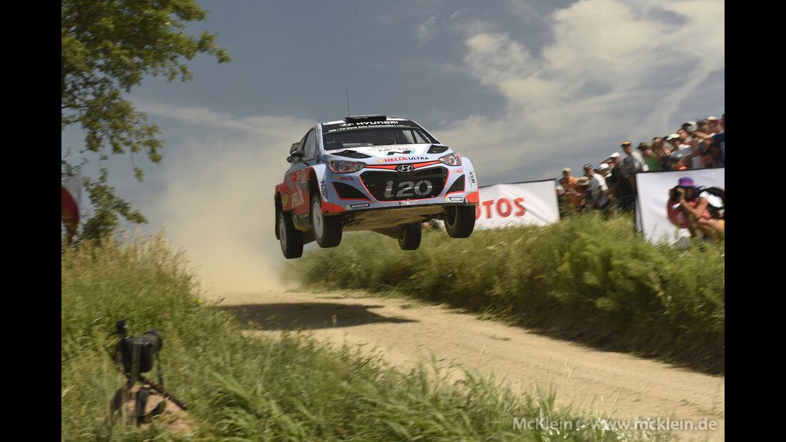 Thierry Neuville - WRC Rallye Polen 2015
