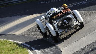 Thomas Kern im Mercedes-Benz SSKL