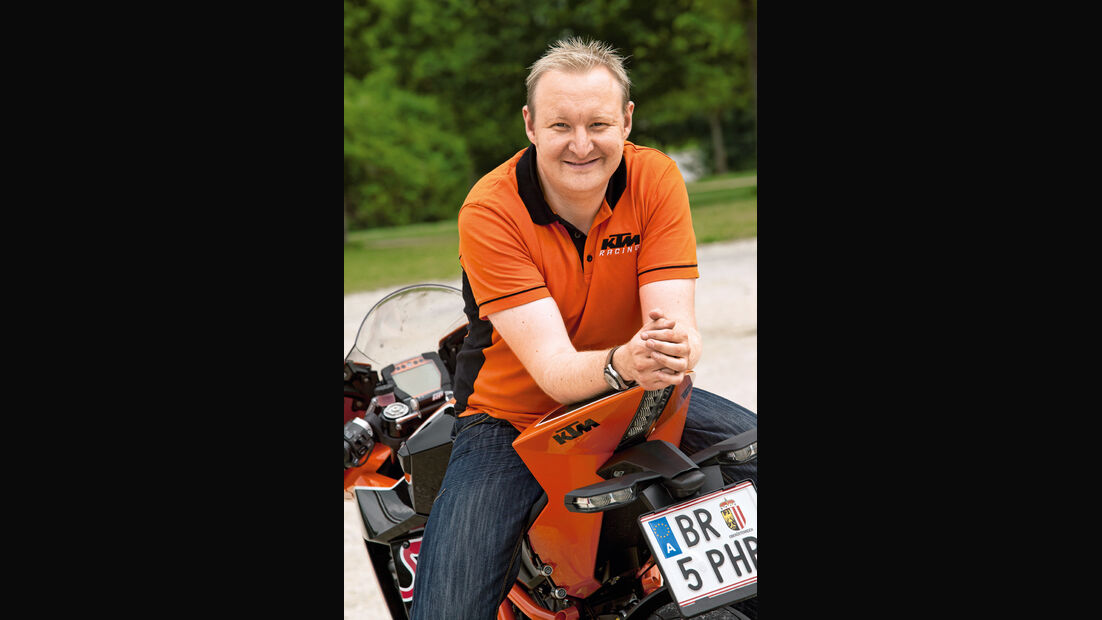 Thomas Kuttruf, Pressechef KTM